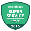 JP Construction Super Service Award from Angie's List