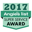JP Construction Super Service Award 2017 from Angie's List