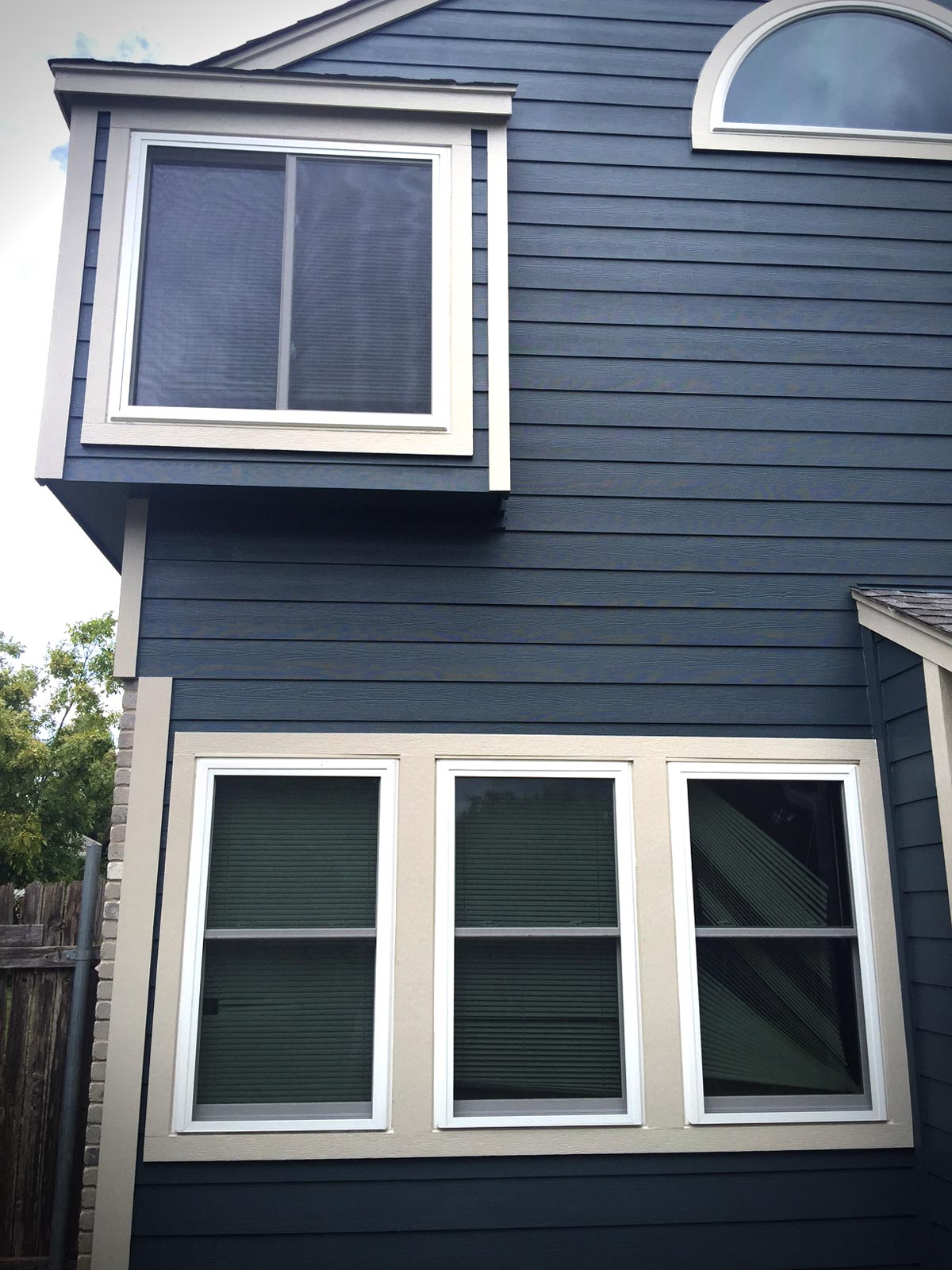 Siding Install At Slaughter And First Jp Construction