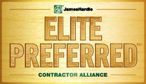 JP Construction Is A James Hardie Elite Preferred Contractor