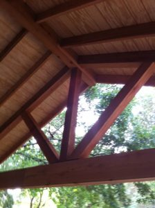 Covered Porch by JP Construction