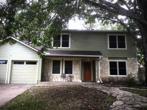 Parker and MoPac JamesHardie Siding and Window Installation - JP Construction